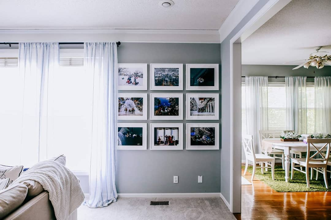 gallery wall space